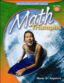 Math Triumphs  Grade 6  Student Study Guide  Book 3  Algebra