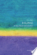 Hume  A Very Short Introduction