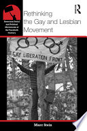 Rethinking the Gay and Lesbian Movement