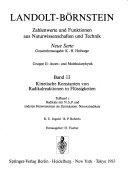 Zahlenwerte und Funktionen aus Naturwissenschaften und Technik