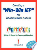 Creating a Win Win IEP for Students with Autism