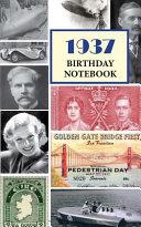 1937 Birthday Notebook