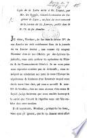 Copie de la Lettre écrite à Mr Linguet par Mr de Moitelle ... au sujet du recit controuvé de la journée du 22 Janvier [1788], publié dans le N. CI. de ses Annales. (No. 2. Copie exacte de la Lettre de Monsieur de Moitelle, etc.).