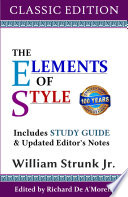 Elements of Style  Classic Edition  2017