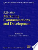 Effective Marketing Communications And Development