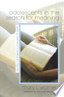 Adolescents in the Search for Meaning