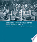 Gender Nation And State In Modern Japan