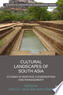 Cultural Landscapes of South Asia