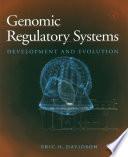 Genomic Regulatory Systems book