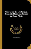 TIMBUCTOO THE MYSTERIOUS TRANS