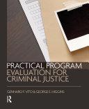 download ebook practical program evaluation for criminal justice pdf epub
