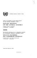 Documents Officiels de la ... Session de L'Assemblée Générale