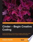 download ebook cinder - begin creative coding pdf epub