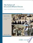 The Future Of U S Civil Affairs Forces book