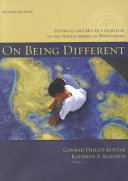 On Being Different