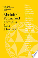 Modular Forms And Fermat S Last Theorem book