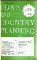 Town and Country Planning