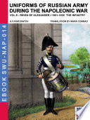 Uniforms of Russian army during the Napoleonic war Vol  9