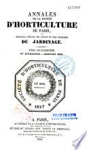 Journal de la Société nationale d'horticulture de France