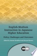 English Medium Instruction in Japanese Higher Education