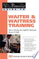 Waiter   Waitress Training