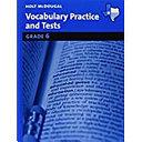 Literature Grades 6 8 Vocabulary Practice