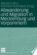 Abwanderung und Migration in Mecklenburg und Vorpommern