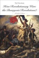 download ebook how revolutionary were the bourgeois revolutions? (abridged edition) pdf epub