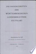 Stammbücher bis 1625