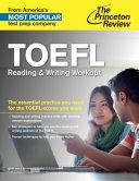 TOEFL Reading   Writing Workout