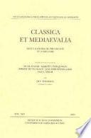 Classica et Mediaevalia vol.45