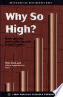 Why So High?
