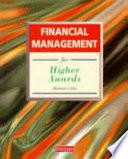 Financial Management for Higher Awards