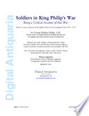 Soldiers in King Philip s War