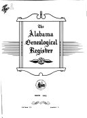 The Alabama Genealogical Register