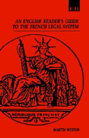 An English Reader's Guide to the French Legal System