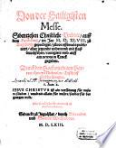 Von der Heiligen Messe 17 christliche Predige ...