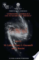 Astronomy  Cosmology and Fundamental Physics