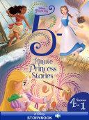 Disney Princess: 5-Minute Princess Stories Book
