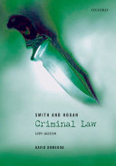 Smith and Hogan Criminal Law
