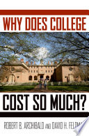 Why Does College Cost So Much
