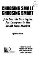 Choosing Small  Choosing Smart