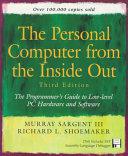 Book The Personal Computer from the Inside Out