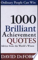 1000 Brilliant Achievement Quotes