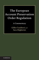 The European Account Preservation Order Regulation