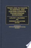 Trade and Payments in Central and Eastern Europe's Transforming Economies