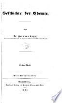 Geschichte der Chemie