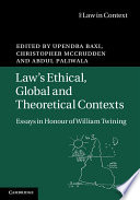 Law s Ethical  Global and Theoretical Contexts