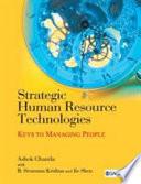 Strategic Human Resource Technologies