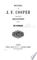 Oeuvres de J F  Cooper  Eve Effingham